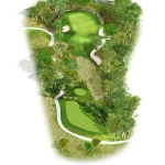 Overview of hole 5
