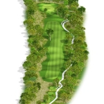 Overview of hole 11