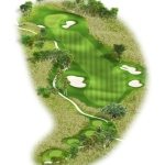 Overview of hole 16