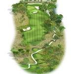 Overview of hole 18